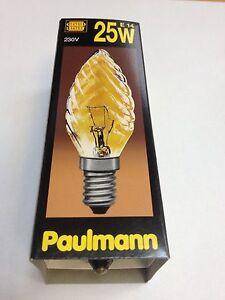 Paulmann-Lampara-de-velas-Girado-ORO-Luz-E14-25W-230V-452-20-Bombilla-Vela