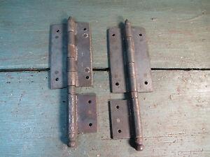 Ancienne charniere meuble ancien quincaillerie acier restauration french antique ebay - Quincaillerie meubles anciens ...