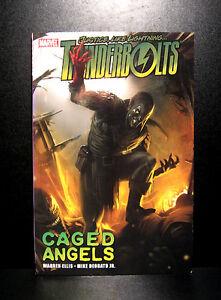 COMICS-Marvel-THUNDERBOLTS-CAGED-ANGELS-Tradepaperback-figure-green-goblin