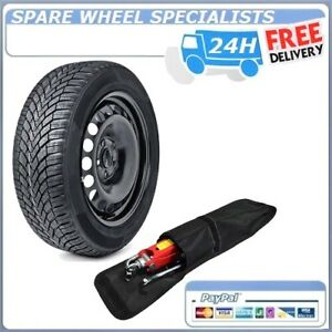 SKODA FABIA 2015-PRESENT DAY SPARE WHEEL AND TOOL KIT 185//60R15 TYRE