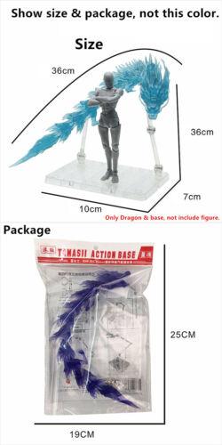 Star Soul Mount Lu Rise Dragon effect for Bandai Libra EX Dohko Shiryu black