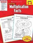 Scholastic Success with: Multiplication Facts (2010, Paperback)