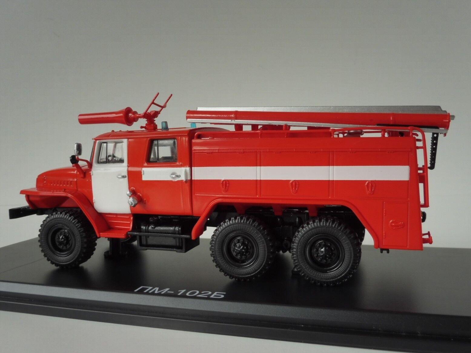 Ural Ac-40 Ac-40 Ac-40 43202 Pm-102b Fire Brigade 1 43 Start Scale Models Ssm1232 Fire 29e1bf