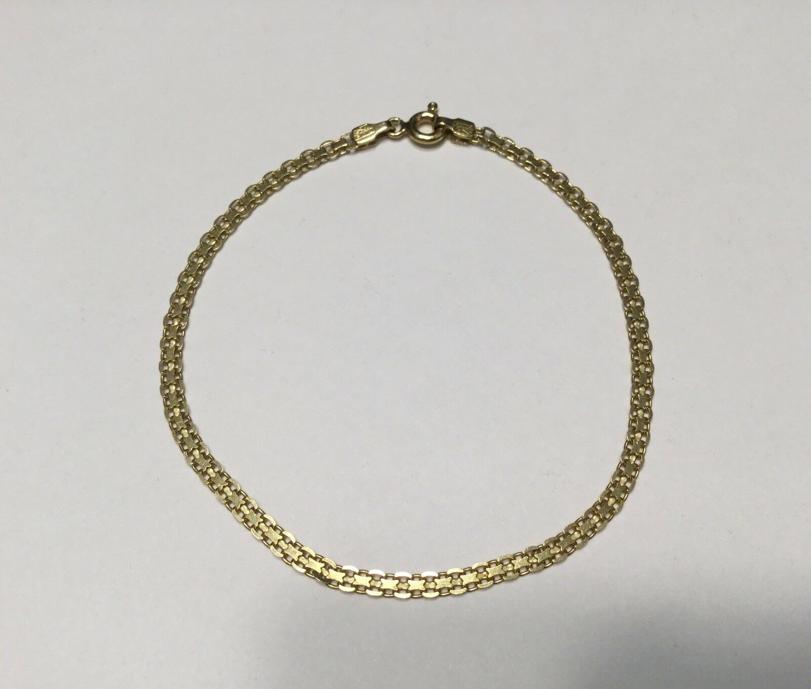 Sigma 18KT. Fine Yellow gold Chain Bracelet-