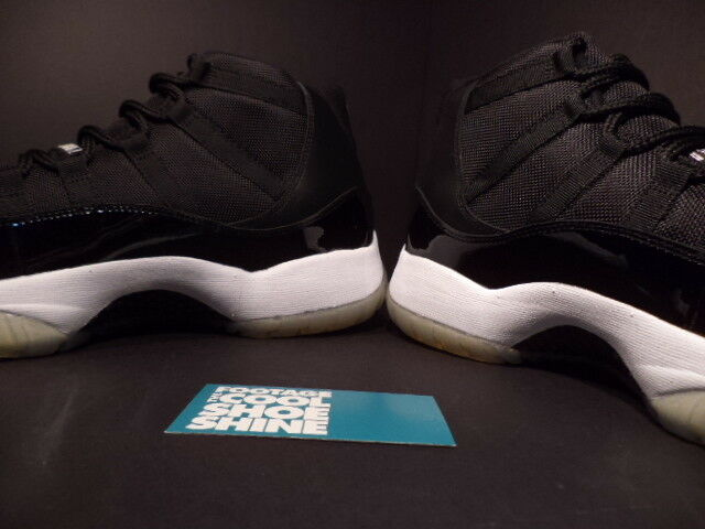 2009 Nike Air Jordan XI Retro 11 Retro XI SPACE JAM Noir ROYAL Bleu blanc 378037-041 7.5 109c7a