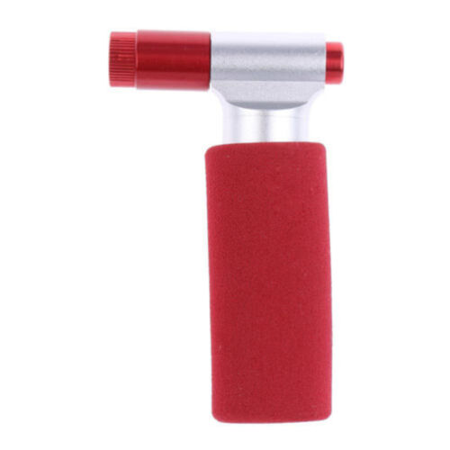 Portable Bike Bicycle Tire Air CO2 Inflator Pump Valve/&Insulated Sleeve Valve