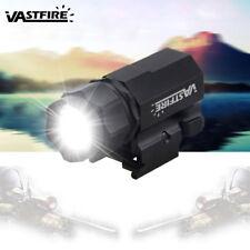 Tactical Ultra Bright 600 Lumen LED Flashlight 20mm Picatinny Rail F Rifle Hunt