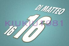 Italy Di Matteo #16 EURO 1996 Homekit Nameset Printing