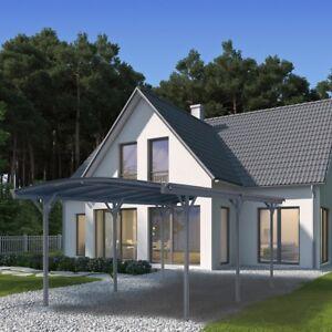 Details zu HOME DELUXE Carport Überdachung Abstellplatz Aluminium Garage  Alu Pavillon