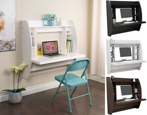 Wall Mounted Floating Computer Student Desk Kids Desks Bedroom ...
