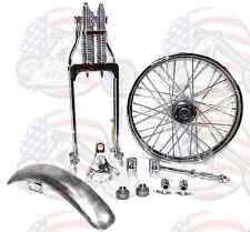 Chrome Springer Front End Forks Kit Harley Ironhead Sportster Bobber Chopper CC