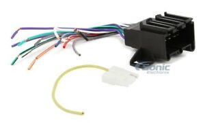 scosche gm01b wire harness to connect aftermarket stereo receiver rh ebay com Scosche Fdk106 Wiring Harness GM Wiring Harness