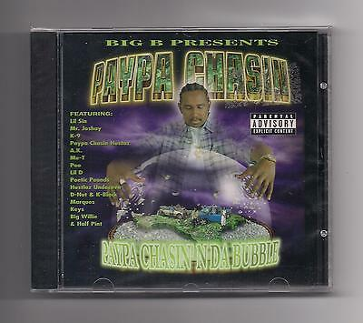 PAYPA CHASIN - N da bubble CD SEALED Texas Lil Sin K-9 Lil D Poo A.K. Big B