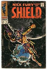 Nick Fury Agent of SHIELD #6  Good    cents  Steranko cover