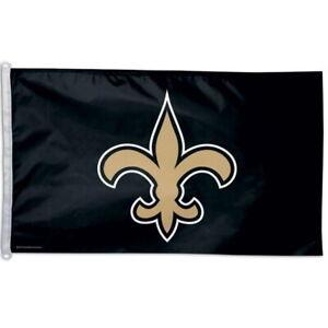 NEW-ORLEANS-SAINTS-LOGO-WINCRAFT-3x5ft-flag-superior-quality-GENUINE-NFL-Lic-us