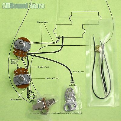 [DIAGRAM_4FR]  Wiring Kit for Import Fender Precision P-Bass COMPLETE & Diagram - Made in  Japan | eBay | Fender Precision Bass Wiring Diagram |  | eBay