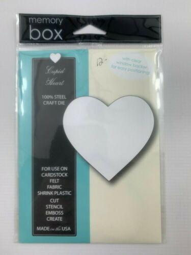 Cupid Heart Memory Box Die