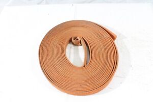 1x Roll Webbing Belt orange fabric approx. 49 3/12ft 0 31/32in B Strength