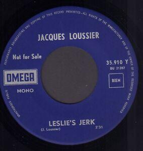 JACQUES-LOUSSIER-Leslie-039-s-Jerk-Generique-RARE-1970-PROMO-SINGLE-7-034-HOLLAND