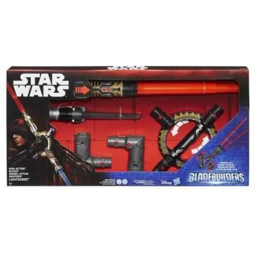 Star Wars sabre laser Spinning BladeBuilders klangreich leuchtend 302390