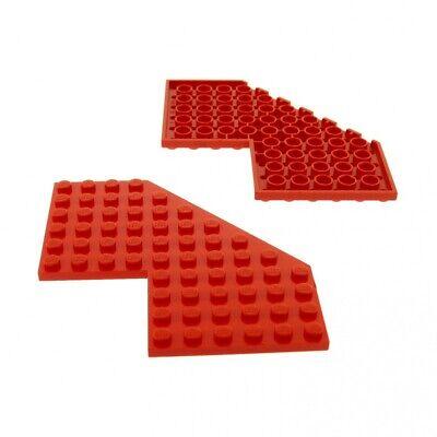 Lego Platte 10x10  Flügelplatte ohne Ecke 2401 schwarz