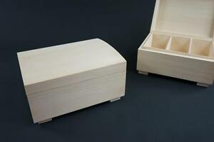 1-x-Plain-Wooden-Jewellery-Memory-Chest-Keepsake-Box-Trinket-Storage-P3C