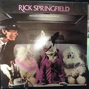 RICK SPRINGFIELD Success Hasn't Spoiled Me Yet Album Released 1982 Vinyl USA