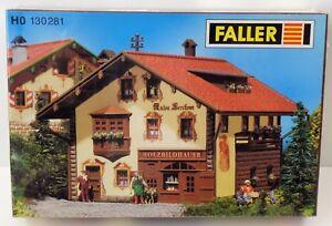 Faller-h0-holzbildhauer-Anton-lerchner-130281-Embalaje-original-nuevo-New