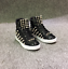 Shoes Top Casual Sport Stivaletti Nuovo Rivets vernice Sneakers Mens High in wYqROaRxT
