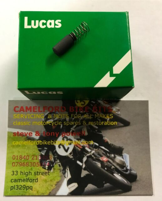 Lucas Magneto Earth Brushes Pack 5 455191 K2F Twin Cylinder Magnetos Springs