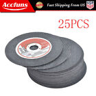 """Cutting Discs 25 Pack 4""""x.040""""x5/8"""" Cut off Wheel - Metal & Stainless Steel"""