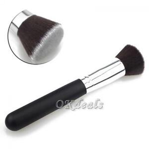 Kabuki-Face-Cosmetic-Foundation-Tool-Flat-Top-Powder-Makeup-Brush