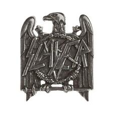 Slayer Eagle Seasons in the Abyss Pewter Pin Band Rock Music Clothing Accessory