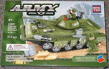 Army T-80-U Tank BricTek Building Block Construction Toy Military Brick 25007