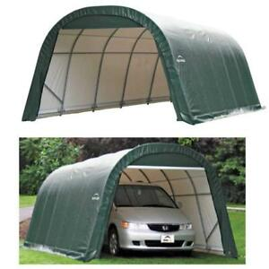 Portable Garage Storage Round Style Shelter Shed Shelter ...