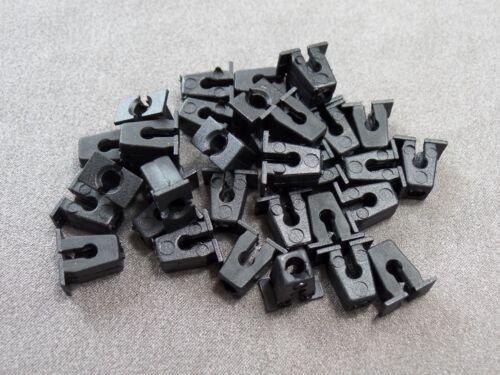 10x Stoßstange Radkasten Kühlergrill Clips für Audi Skoda VW 811807577C