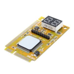 Scheda Madre Tester Diagnostica Mini PCI-E LPC Test Motherboard Laptop H5U3 J7G1