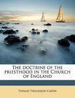 NEW The doctrine of the priesthood in the Church of England