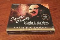 Murder In The Mews: 3 Perplexing Cases Poirot Cd Agatha Christie Unabridged