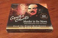 Murder In The Mews: 3 Perplexing Cases Poirot Cd Agatha Christie Unabridged
