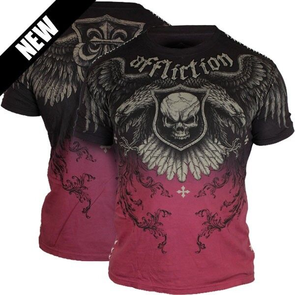 AFFLICTION SUFFER SS T-Shirt. M L XL. NWT - FREE Shipping    A7736