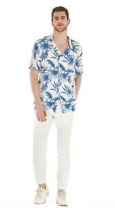 Hawaii-Hangover-Men-039-s-Hawaiian-Shirt-Aloha-Shirt-Day-Dream-Bloom