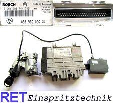 Steuergerät Motorsteuergerät BOSCH 0261203744 VW Polo 6 N 030906026AK Schlüssel