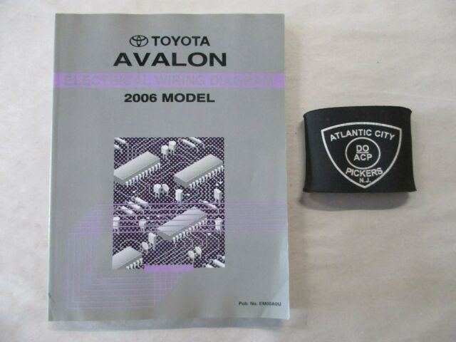 2006 Toyota Avalon Electrical Wiring Diagram Service Manual