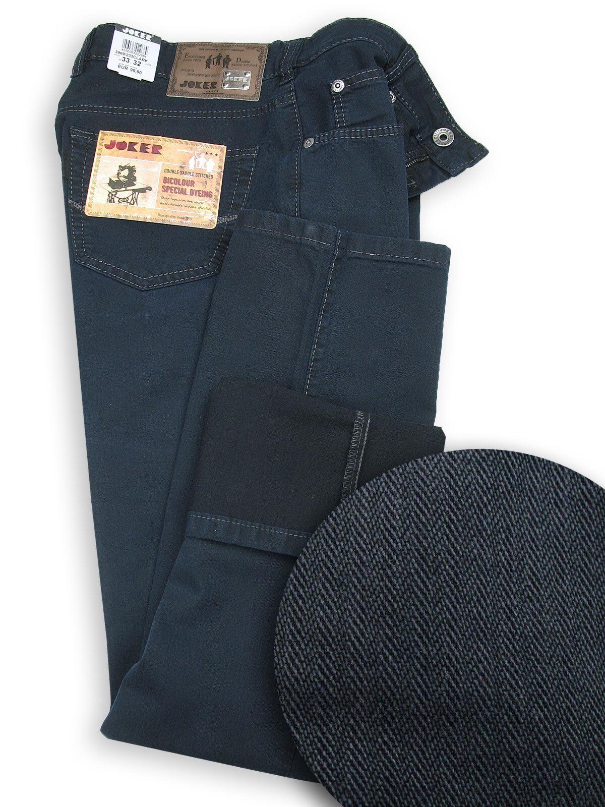 JOKER Herren Jeans   Clark ( Easy Comfort Fit ) dunkelblau Strukturbaumwolle    Niedrige Kosten    eine große Vielfalt    Wirtschaft