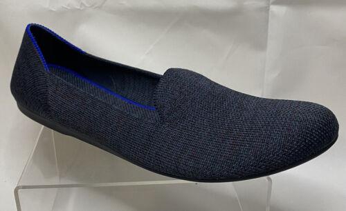 Rothys SINGLE Round Toe Flat Shoe Womens Sz 8 Blac