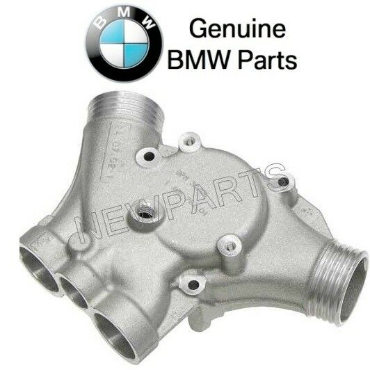 Bmw E39 Thermostat Housing With Seal Ring Genuine 1 Year For Sale