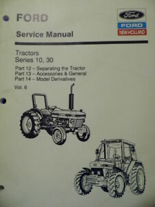 Ford-New-Holland-Tractors-Series-10-30-Service-Manual-2600-to-8210-Vol-6