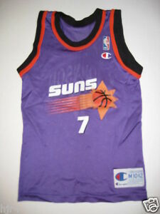 Details about Kevin Johnson #7 Phoenix Suns NBA Jersey Youth M 10-12