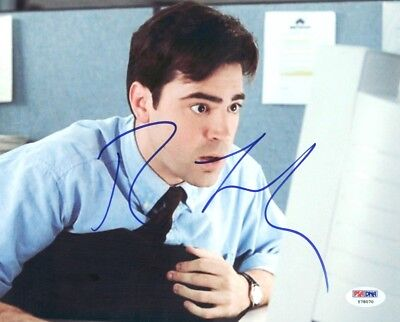 Photographs Ron Livingston Office Space Signed Authentic 8x10 Photo Psa/dna #y78070 Moderate Price